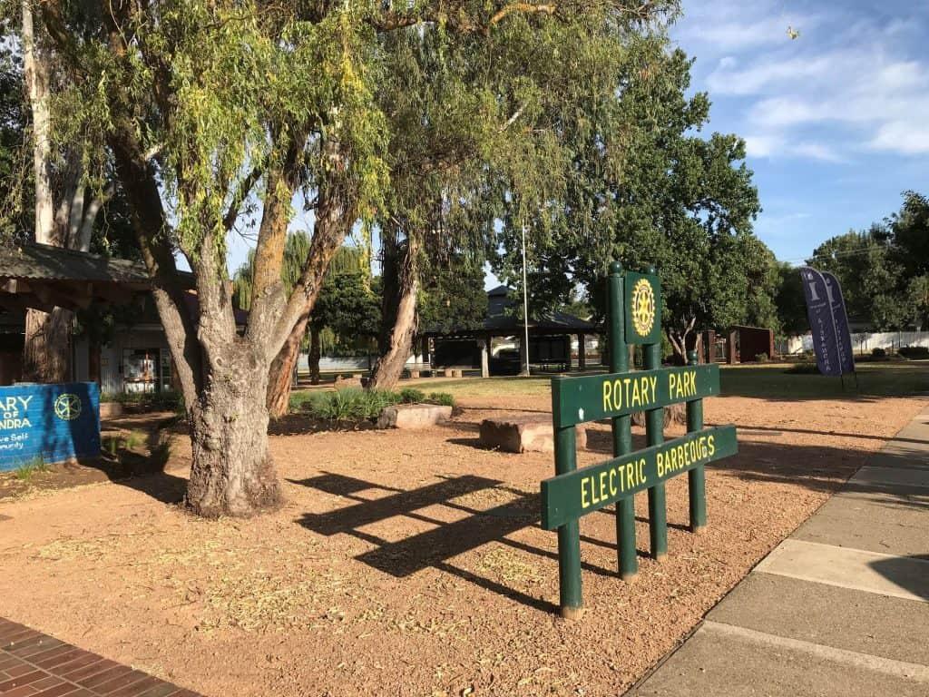 Rotary Park Upgrade 1
