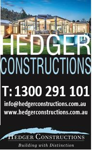 2019 Hedger Constructions Ad
